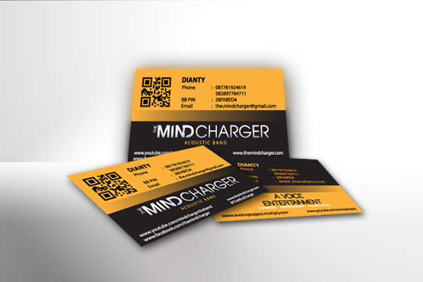Bussines Card The Mind Charger