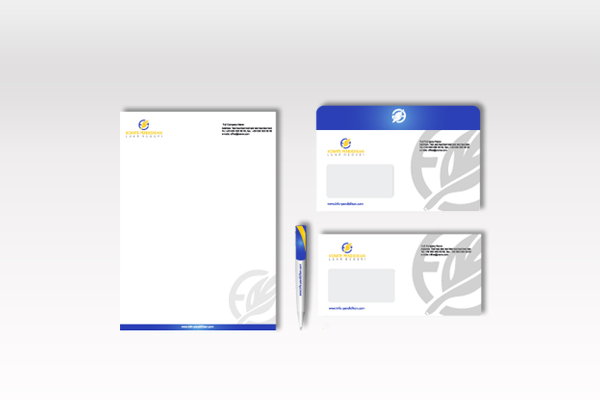 Envelope and Letterhead