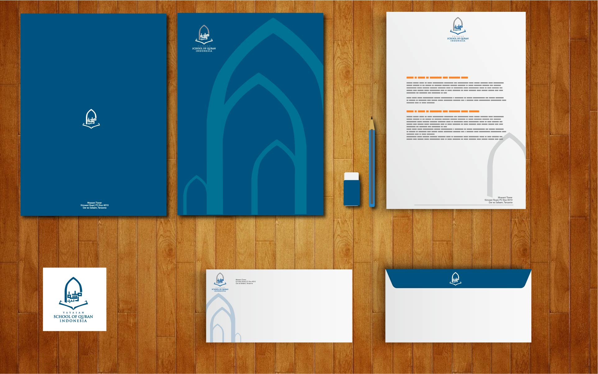 Corporate Identity House of Quran